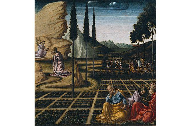 Acad mie d 39 orl ans tours lettres bible et peinture for Au jardin des oliviers